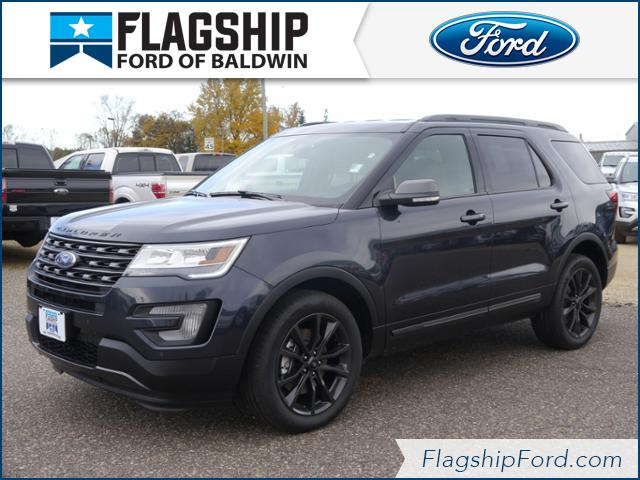 New 2017 Ford Explorer XLT SUV in Baldwin