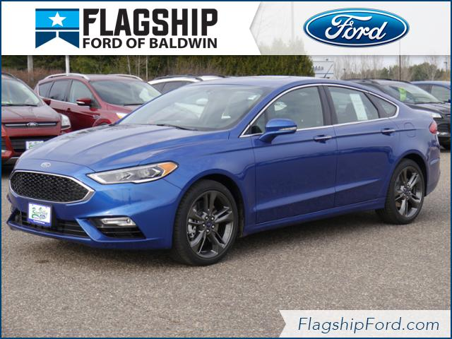 new 2017 ford fusion sport sedan in baldwin 170181 flagship ford. Black Bedroom Furniture Sets. Home Design Ideas