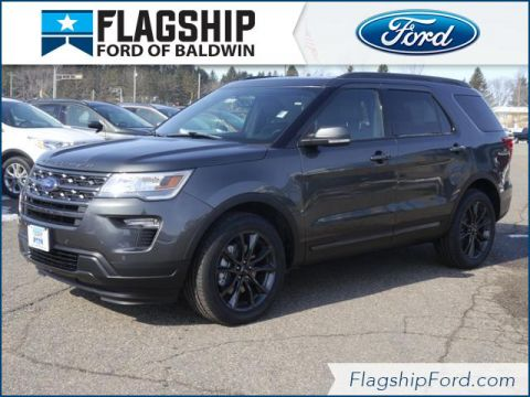 New 2018 Ford Explorer XLT AWD