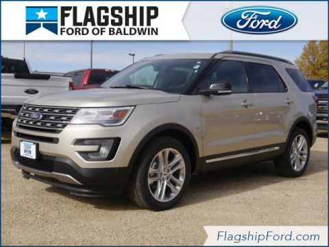 New 2017 Ford Explorer XLT AWD