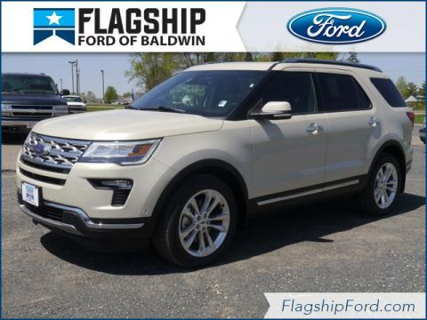 New 2018 Ford Explorer Limited AWD